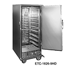 FWE ETC-1826-14HD Heated Transport Cabinet, Full Height, 1-Door, Stainless, 220v/1ph