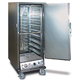 FWE ETC-UA-6PH Half Height Heated Holding & Proofing Cabinet, Solid Door, Universal Slide