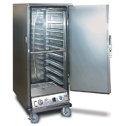 FWE ETC-1826-9PH Proofer-Heater Transport Cabinet, Half Height, 9-Tray Capacity, Stainless, 220v/1ph