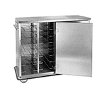 FWE - Food Warming Equipment ETC-12 Patient Tray Cart, 2-Door, 12-Removeable & Adj. Ro
