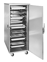 "FWE ETC-UA-11 Enclosed Transport Cabinet, Full Height, 22 Slides for 12 x 20"" Pans"