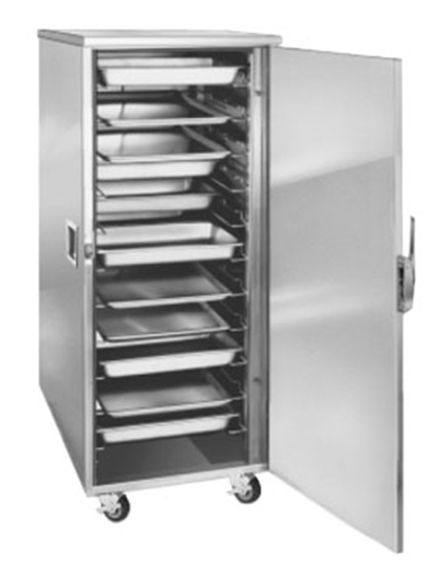 FWE ETC-UA-11 Enclosed Transport Cabinet, Full Height, 22 Slides for 12 x 20in Pans