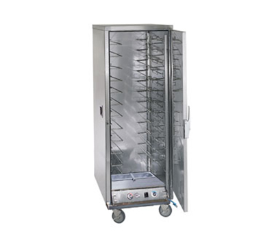 FWE ETC-UA-12PH Full Height Heated Holding & Proofing Cabinet, Solid Door, Universal Slide