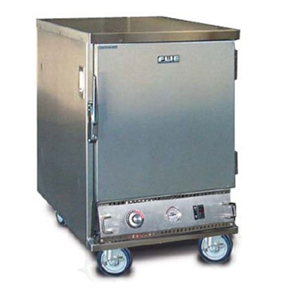 Fwe - Food Warming Equipment ETC-UA-4HD Heated Transport Cabinet, Under Counter, 4-Tray Slides, Stainless, 120v