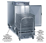 FWE HHC-RBR 120 Heated Holding Companion w/ Baskets, Stationary, Insulated, Stainless, 120V