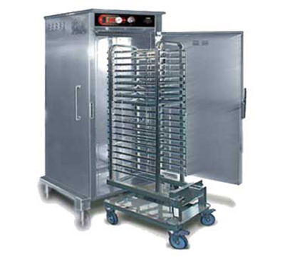 FWE HHC-CC-202 Stationary Combi Companion Heated Holding Cabinet, 1-Section, Roll-In, Stainless