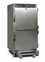 FWE HHC-RH-26 220 Heated Holding Cabinet, 26-Wire Basket Capacity, 2Dutch Doors, Stainless, 220/1V
