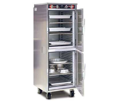 "FWE HLC-2127-9-9 120 Mobile Heated Holding Cabinet, Full Size 73"", Insulated, Stainless, 120V"