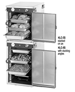 FWE HLC-8S 120 Handy Line Heated Cabinet w/ 1-Comp., Stacking, Half Height, 8-Pan Racks, 120V