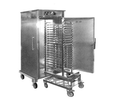 FWE HHC-CC-201-MW 208 Mobile Combi Companion Heated Holding Cabinet w/ 1-Section, Roll-In, 208/1V