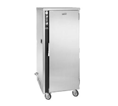 FWE - Food Warming Equipment MT-1220-15220 Mobile Heated Cabinet w/ 1-Door, 15-Pan Capacity, Stainless, 220/1V