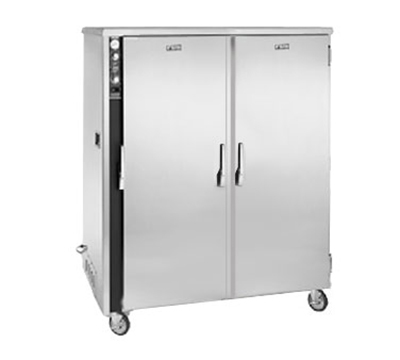 FWE MT-1220-30 120 Mobile Heated Cabinet w/ 2-Doors, 30-Pan Capacity, Stainless, 120V