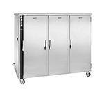 FWE MT-1220-45 120 Mobile Heated Cabinet w/ 3-Doors, 45-Pan Capacity, Stainless, 120V