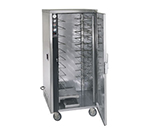 FWE MT-1826-15220 Mobile Heated Cabinet w/ 1-Door, 10-Pair Rod Slides, Stainless, 220/1V