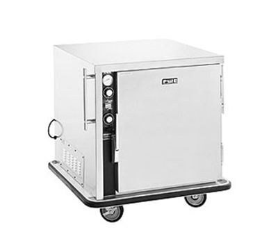 FWE MT-1826-7 120 Mobile Heated Cabinet w/ 1-Door, 5-Pair Rod Slides, Stainless, 120V