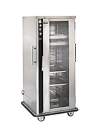 FWE MTU-10 120 Mobile Heated Cabinet w/ 10-Pair Rod Slides, Insulated, Stainless, 120V