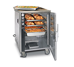 FWE MTU-4 120 Mobile Heated Cabinet w/ 4-Pair Rod Slides, Insulated, Stainless, 120V