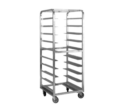"FWE OTR-1826-05-12 Mobile Tray Rack w/ Open Sides, 69"" H, 12-Tray Capacity, Alum. Construction"