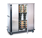 FWE P-120 120 120-Plate Heated Meal Delivery Cart, 120v