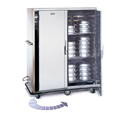 Fwe - Food Warming Equipment P-144-2-XL P-Series Banquet Cart w/ 2-Doors, 120/144-12.375in Round Plate Capacity
