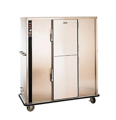 FWE P-200 120 200-Plate Heated Meal Delivery Cart, 120v