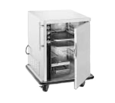 FWE - Food Warming Equipment PH-1826-7-7 120 Mobile Heater-Proofer Cabinet w/ Split Cavity, 5-Pair Slide Cap., 120V