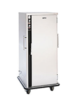 FWE PHU-10220 Mobile Heater-Proofer Cabinet, Insulated,10-Pair Slide Cap., Stainless, 220/1V