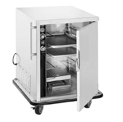 FWE PHU-7-14 120 Mobile Heater-Proofer Cabinet w/ 2-Doors, 14-Pair Slide Capacity, 120V