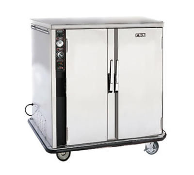 FWE PS-1220-20 120 Mobile Heated Cabinet w/ 2-Doors, 20-Pan Capacity, Insulated, Stainless, 120V