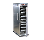 FWE PHTT-4 220 Clymate Heated Cabinet, 4Univ. Tray Slides, Mobile, Insulated, Stainless, 220/1V