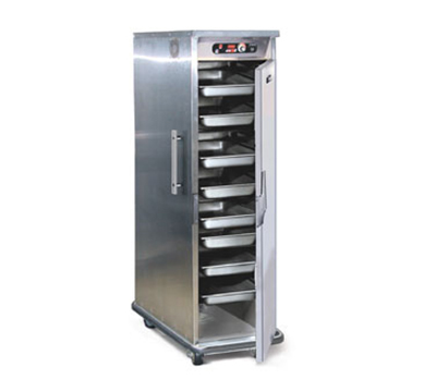 FWE PHTT-4 120 Clymate Heated Cabinet, 4 Univ. Tray Slides, Mobile, Insulated, Stainless, 120V