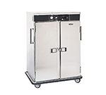 FWE PST-20 120 Mobile Heated Cabinet w/ 2-Doors, 20-Pan Capacity, Double Comp., Stainless, 120V