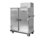 FWE RBQ-96 120 96-Plate Heated Meal Delivery Cart, 120v
