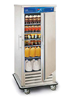 "FWE RF-30220 32"" One Section Commercial Refrigerator Freezer - Solid Door, Bottom Compressor, 220v/1ph"