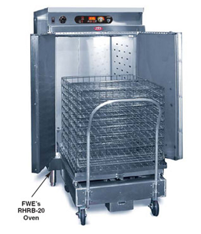 FWE RHRB-20 2083 Retherm Oven for Basket Docking System, 2-Doors, Stationary, Stainless, 208/3V