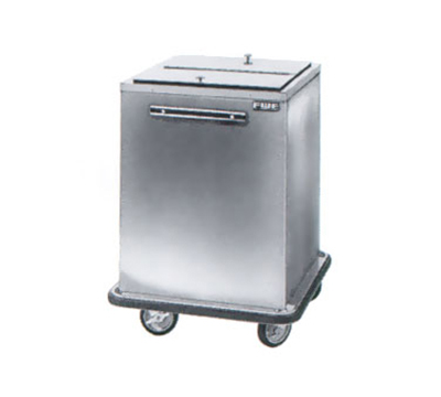FWE - Food Warming Equipment SIC-222 Mobile All-Weather Ice Bin, 200lb Cap., Insulated, WrapAround Bumper, Stainless