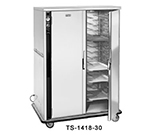 FWE TS-1418-30 120 30-Tray Heated Meal Delivery Cart, 120v