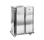 FWE PS-1220-30 120 Mobile Heated Cabinet w/ 2-Doors, 30-Pan Capacity, Insulated, Stainless, 120V