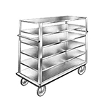"FWE UCU-72-609AL 75"" Queen Mary Cart w/ 6 Levels, 1200-lb Capacity"
