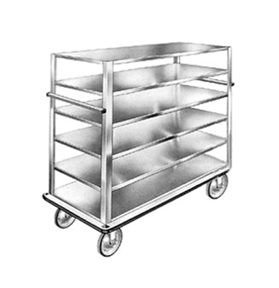 "FWE UCU-72-512AL 75"" Queen Mary Cart w/ 5 Levels, 1200-lb Capacity"