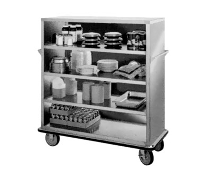 """FWE UCE-415 55"""" Queen Mary Cart w/ 4 Levels & 1600-lb Capacity"""