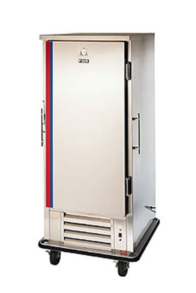 FWE UHRS-10 Mobile Heated/Refrig. Convertible w/ 10-Univer. Pan Slides, Stainless, 120V