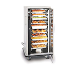 FWE UHS-10 120 Mobile Heated Cabinet w/ 10-Pair Univer. Slides, Full-Height, Stainless, 120V