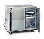 FWE UHS-7-14 120 Mobile Heated Cabinet w/ 2-Doors,14-Pair Univer. Slides, Half-Height, 120V