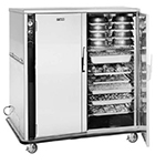 FWE UHS-BQ-120-XL 120 18-Tray Heated Meal Delivery Cart, 120v