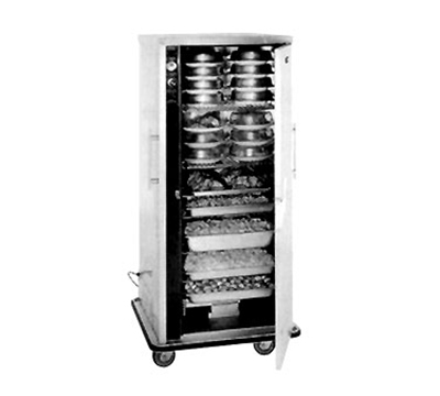 FWE UHS-BQ-80-XL 120 12-Tray Heated Meal Delivery Cart, 120v