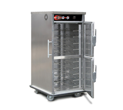 FWE UHST-5 HO 120 5-Tray Heated Meal Delivery Cart, 120v