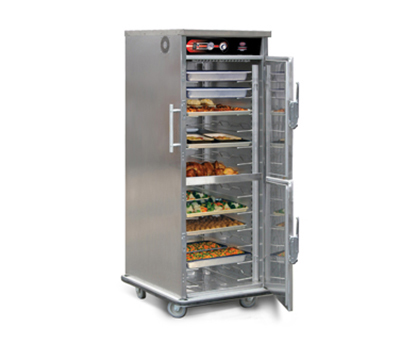 FWE UHST-13D HO 120 13-Tray Heated Meal Delivery Cart, 120v