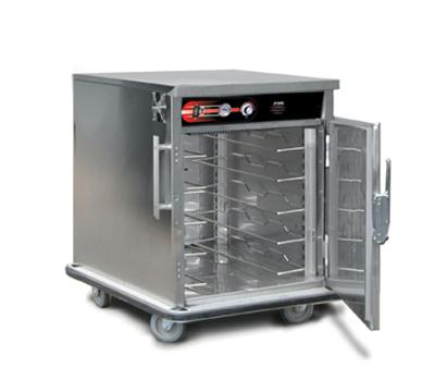 FWE UHST-5 120 Mobile International Heated Server w/ 1-Door, 5-Pair Univer. Tray Slides, 120V