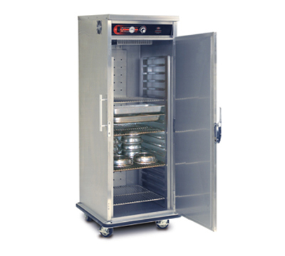 FWE UHST-GN-6480-BQ 120 Mobile UltraUniversal Banquet Cabinet, 64/80-Plate Cap., 4-Shelves, 120V
